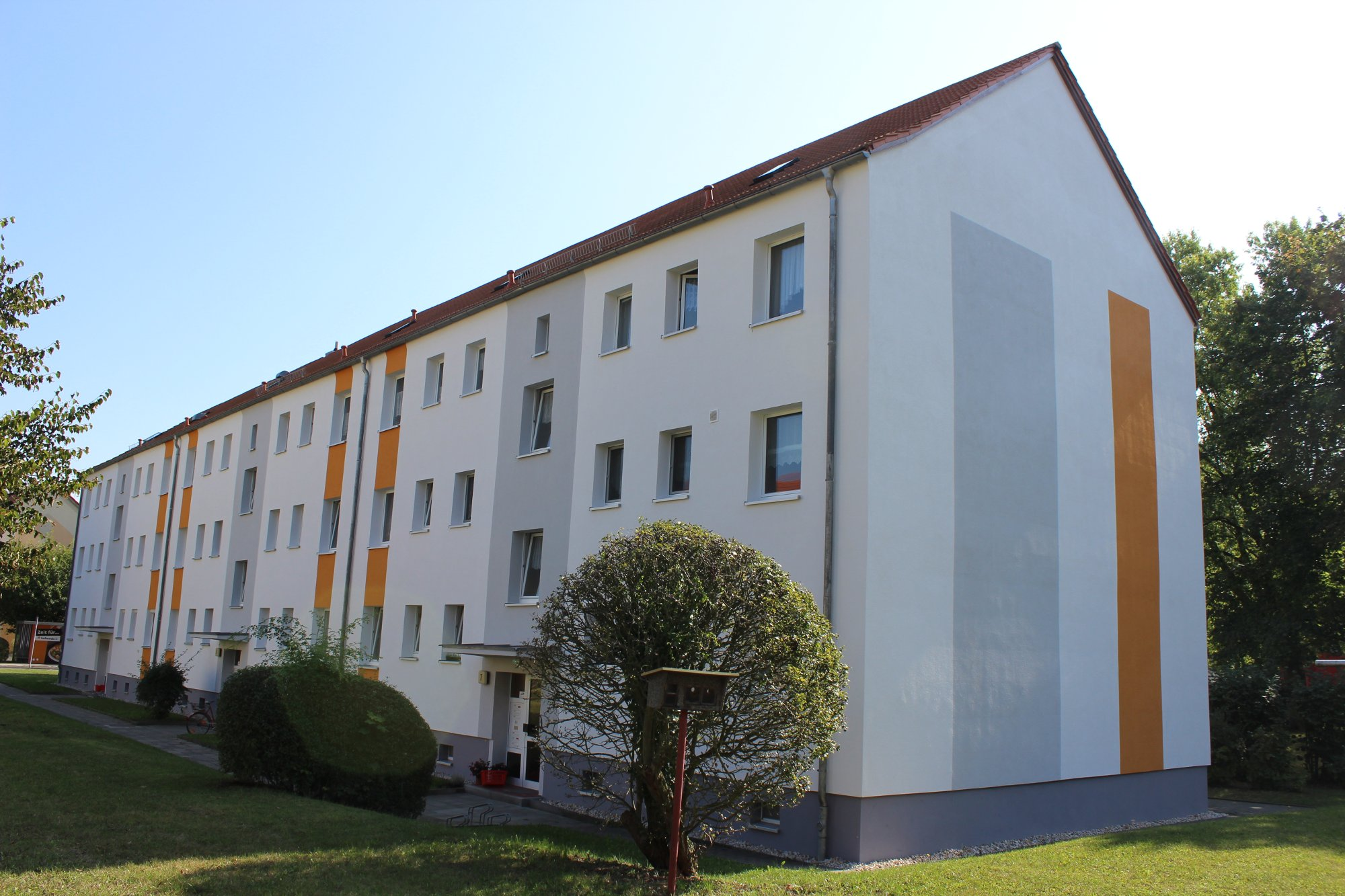 Fassadenanstrich in Borna - Nachher