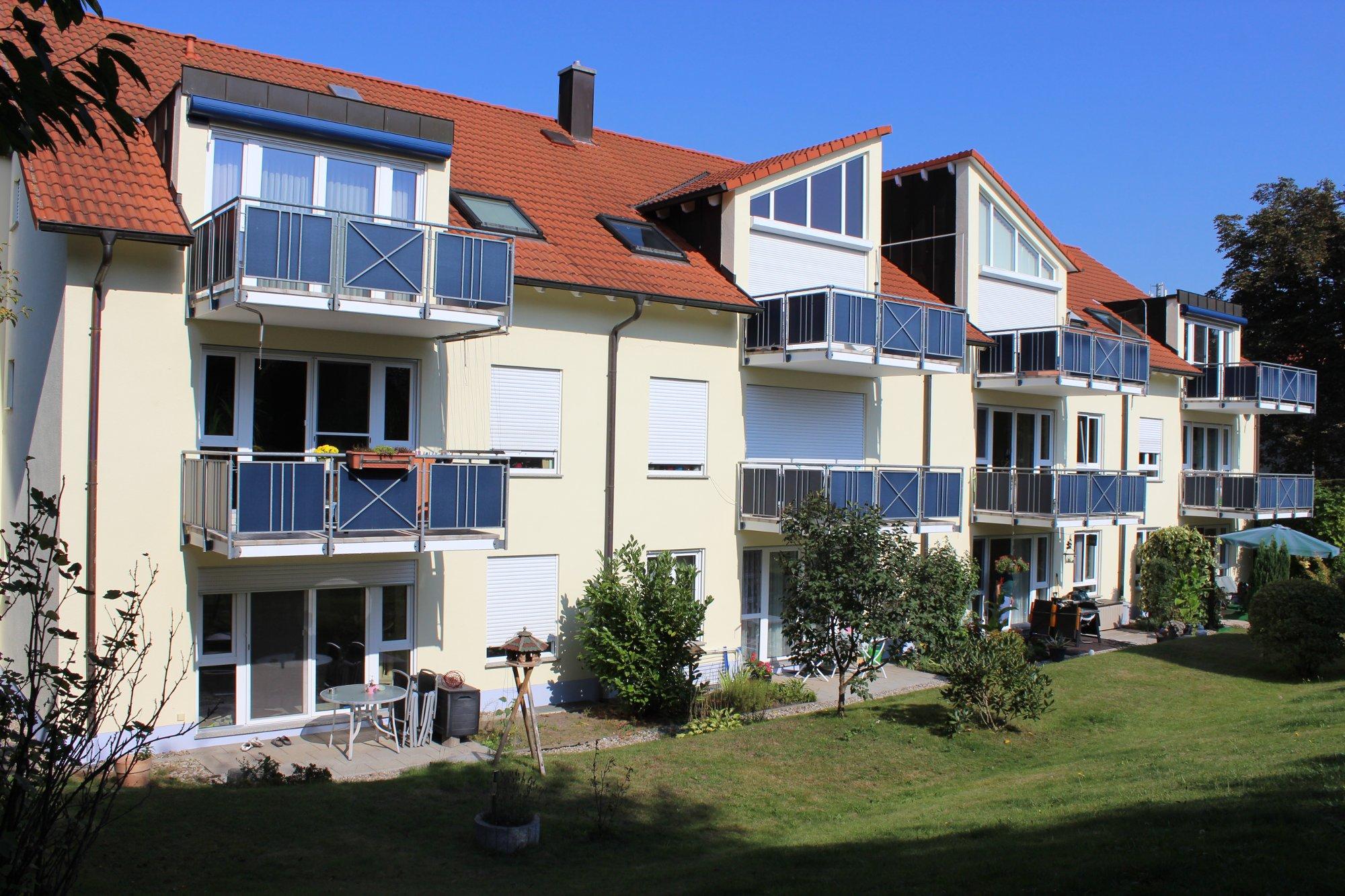 Giebelsanierung, Fassadenanstrich in Borna Rückseite - Nachher