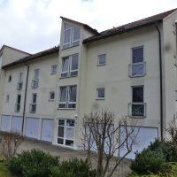 Giebelsanierung, Fassadenanstrich in Borna Vorderansicht - Vorher