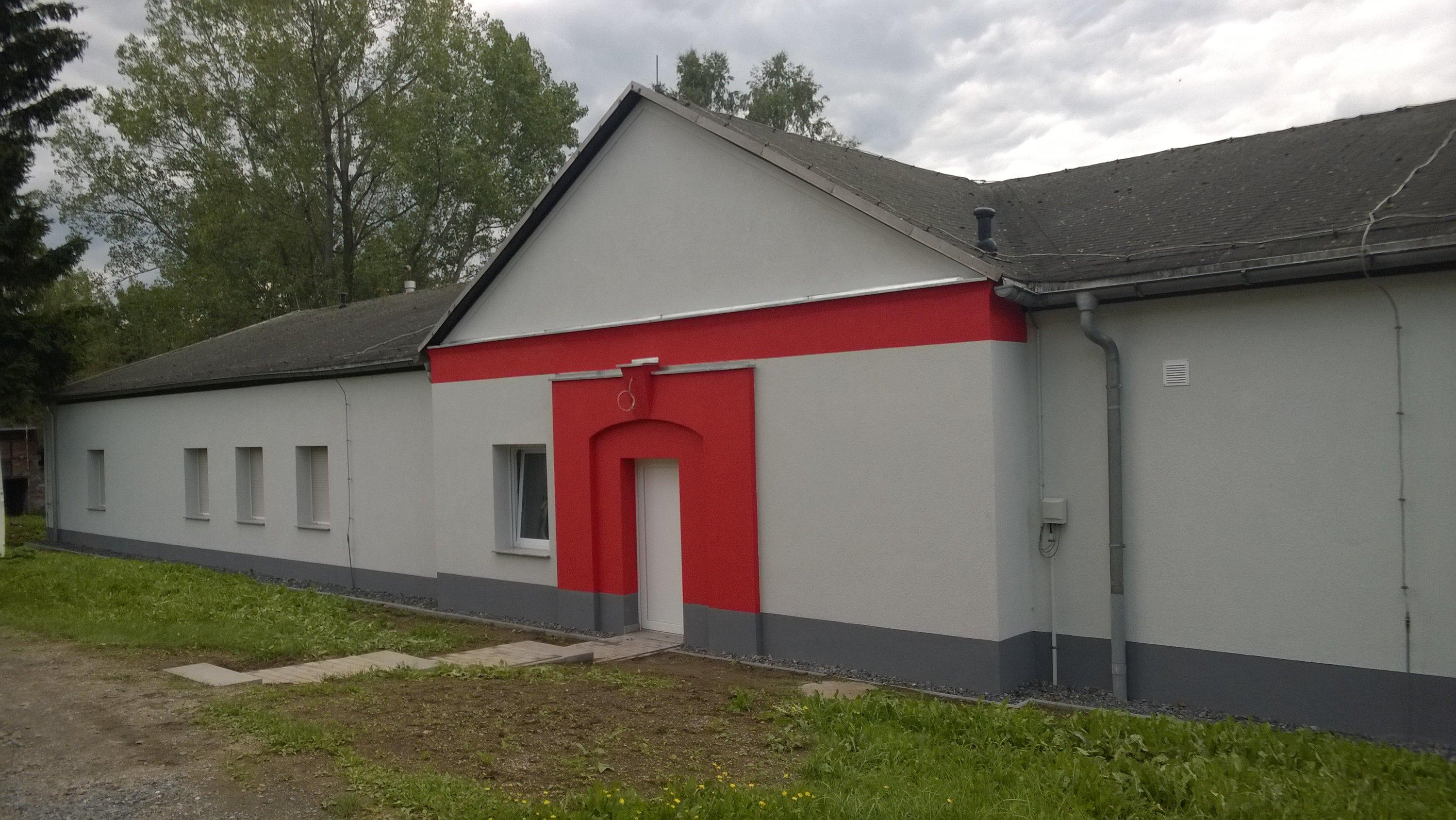 Fassadensanierung WDVS in Plauen - Nachher