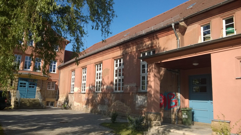 Fassadensanierung in Lucka - Vorher