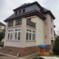 Fassadensanierung WDVS in Borna- Vorher